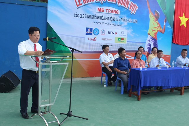 Khai mạc giải quần vợt các CLB cúp Mê Trang lần thứ 9