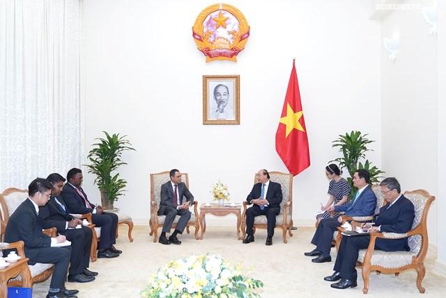 Thủ tướng Nguyễn Xuân Phúc tiếp Đại sứ Malaysia - 1