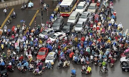 Ô nhiễm môi trường do xe máy tăng quá nhanh