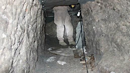 Phát hiện đường hầm buôn ma túy từ Mexico sang Mỹ