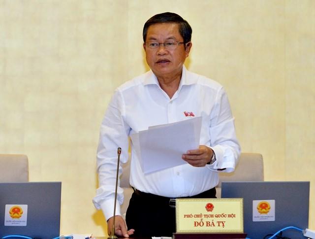 Góp ý dự thảo Báo cáo kiến nghị của cử tri tại kỳ họp thứ 7, Quốc hội khóa XIV - 1