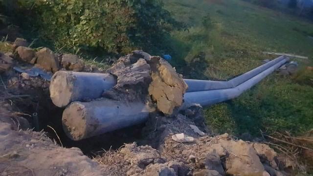 Kiên Giang: Đổ cột điện, 2 người thương vong