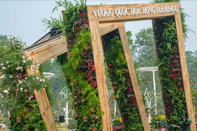 Lễ hội Hoa hồng - địa điểm 'check in' thú vị dịp Tết 2019