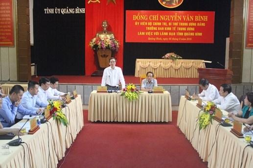Tạo điều kiện để Quảng Bình phát triển