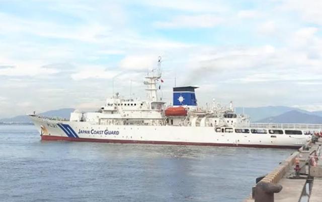 Tàu Lực lượng bảo vệ bờ biển Nhật Bản thăm Đà Nẵng - 1