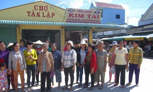 Tây Ninh: Giải quyết quyền lợi cho tiểu thương