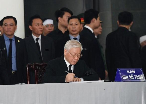 Lễ viếng Chủ tịch nước Trần Đại Quang - 5