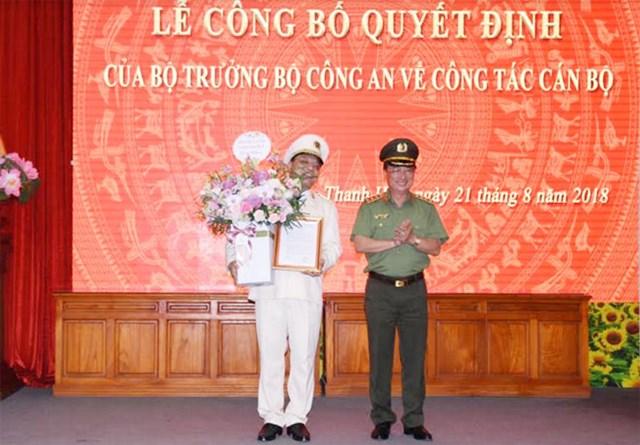 Công an tỉnh Thanh Hóa có tân Giám đốc