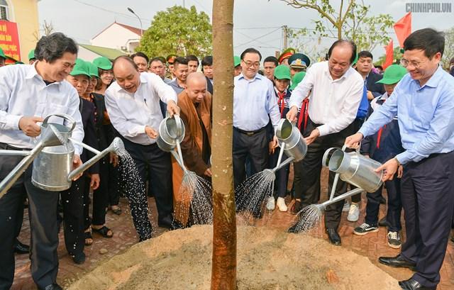 Thủ tướng mong mỗi gia đình Thủ đô trồng một cây, tạo nét đẹp mới của Hà thành - 2