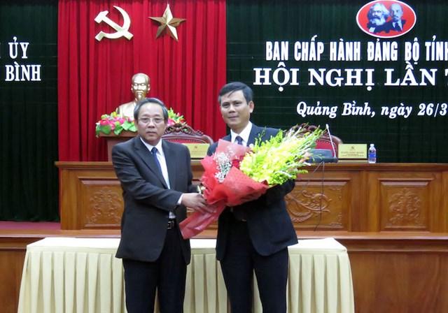 Ông Trần Thắng trúng cử Phó Bí thư Thường trực Tỉnh ủy Quảng Bình