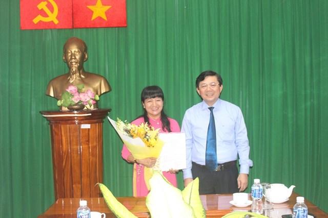Bà Phạm Thanh Tuyền được bổ nhiệm Phó Trưởng Ban Công tác phía Nam