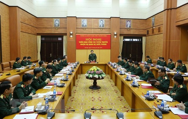 Bộ Quốc phòng triển khai nhiệm vụ công tác tuyên truyền năm 2019 - 1
