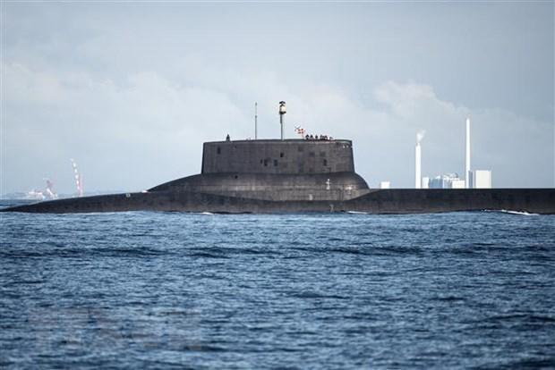 Hạm đội Phương Bắc của Nga tập trận tại biển Barent