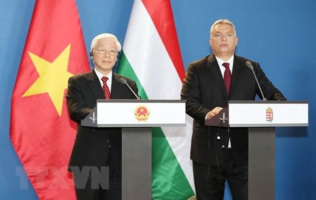 Tuyên bố chung Việt Nam - Hungary về lập quan hệ đối tác toàn diện