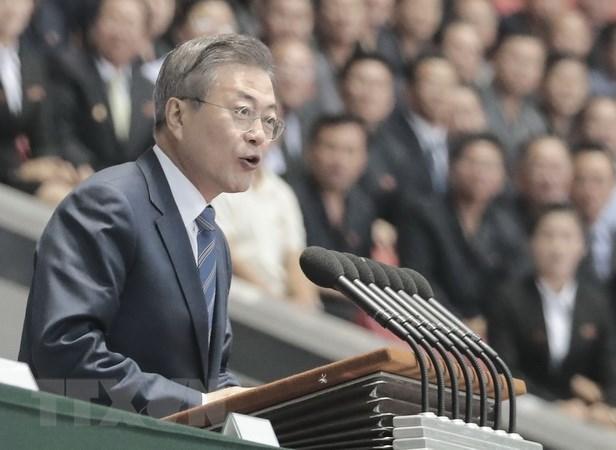 Tổng thống Hàn Quốc lần đầu phát biểu trước người dân Triều Tiên