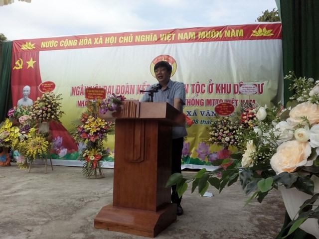 Tưng bừng ngày hội 'Đại đoàn kết toàn dân tộc' ở khu dân cư Vĩnh Đại 1