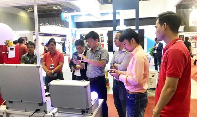 Gần 400 doanh nghiệp tham gia triển lãm về Công nghệ & Thiết bị điện