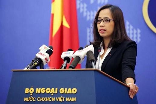 Việt Nam lên tiếng về hoạt động của giàn khoan Hải Dương 943