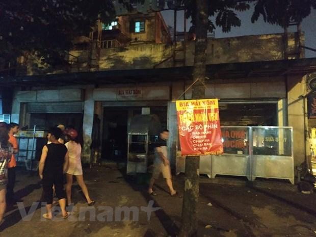 Hà Nội: Quán bia Hải Xồm bất ngờ bốc cháy dữ dội trong đêm - 1