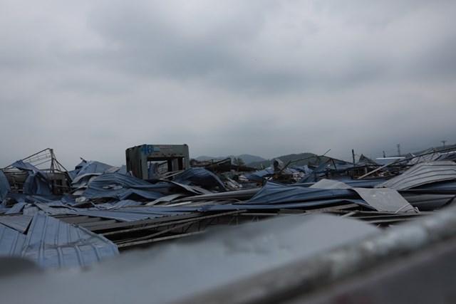 Mặt trận Trung ương thăm hỏi và hỗ trợ nạn nhân trận dông lốc ở Vĩnh Phúc - 4