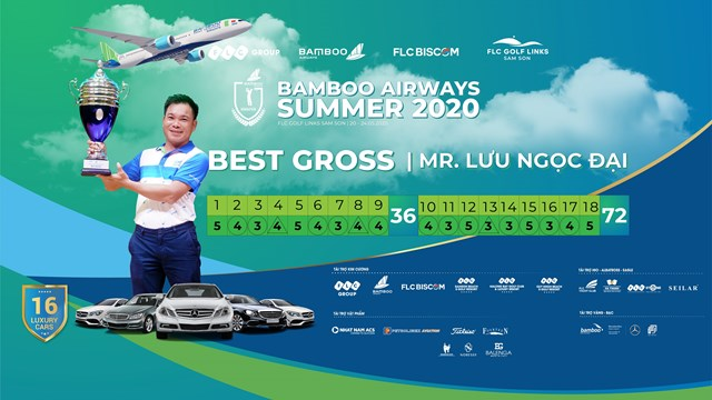 Golfer Lưu Ngọc Đại vô địch Bamboo Airways Summer 2020