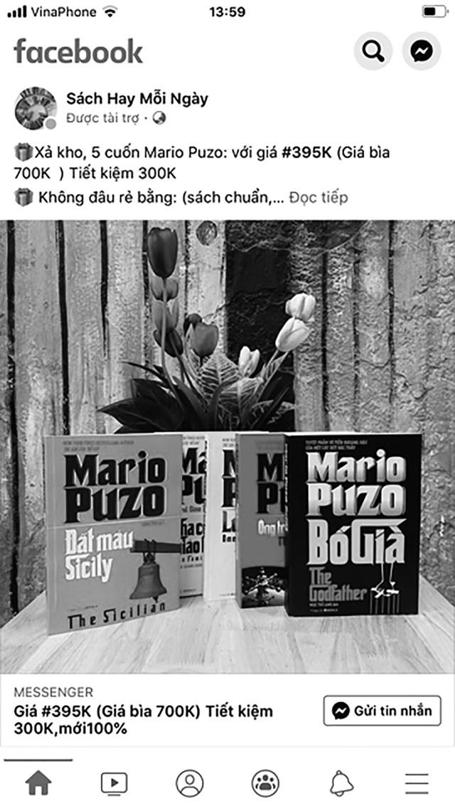 Mua sách trên facebook:Tiện nhưng không chắc lợi - 1