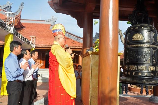 Khánh thành Đền thờ Bác Hồ và các Anh hùng liệt sỹ tỉnh Quảng Bình - 1