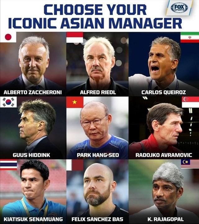 Ông Park Hang Seo lọt vào danh sách HLV xuất sắc nhất châu Á - 1