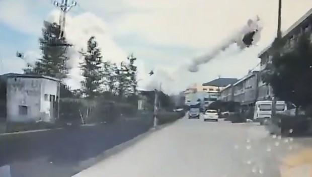10 người chết, hơn 100 bị thương trong vụ nổ xe bồn ở Trung Quốc