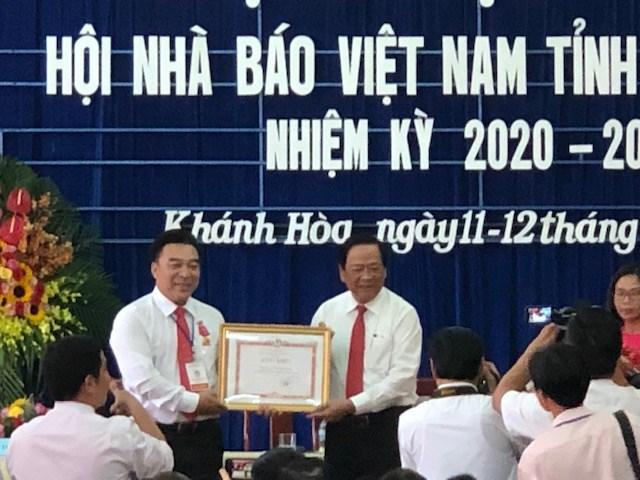 Đại hội Hội Nhà báo tỉnh Khánh Hòa lần thứ VIII - 1