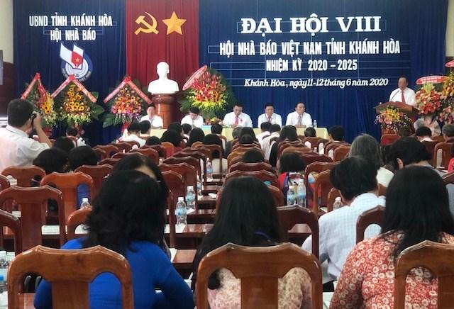 Đại hội Hội Nhà báo tỉnh Khánh Hòa lần thứ VIII
