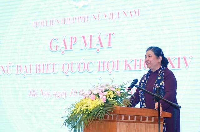 Phát huy trí tuệ, trách nhiệm của nữ đại biểu Quốc hội - 1