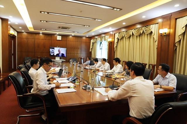 Trao đổi kinh nghiệm phòng, chống dịch giữa MTTQ Việt Nam và Phòng Xã hội Liên bang Nga - 1