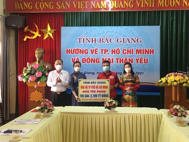 Ủy ban MTTQ tỉnh Bắc Giang: Kêu gọi, vận động ủng hộ TP HCM phòng, chống dịch Covid-19 - Ảnh 3