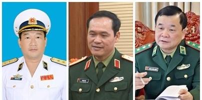 Bộ Quốc phòng có thêm 3 Thứ trưởng
