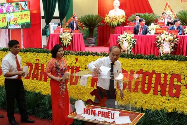 Hà Nội: Chủ tịch huyện Quốc Oai không trúng cử Huyện ủy
