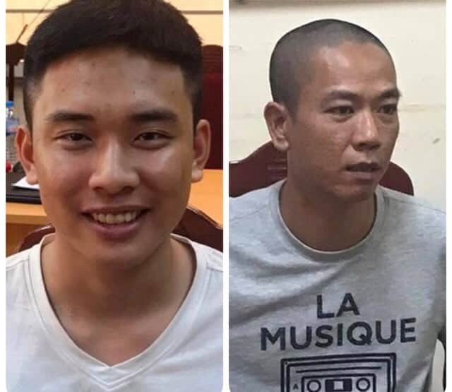 Bắt 2 nghi can nổ súng cướp 900 triệu đồng tại BIDV Huỳnh Thúc Kháng