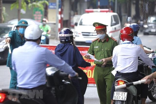 Từ ngày 6/9: Giấy đi đường ở Hà Nội được cấp ra sao?