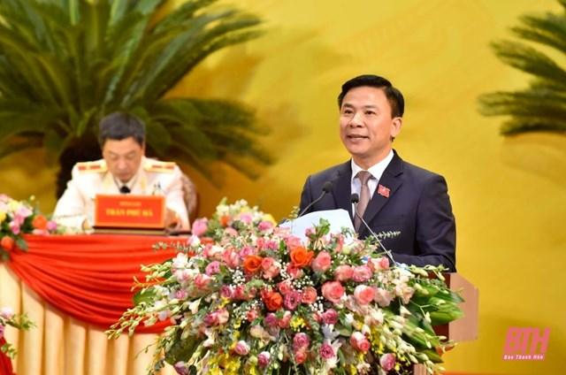 Ông Đỗ Trọng Hưng được bầu giữ chức Bí thư Tỉnh ủy Thanh Hóa nhiệm kỳ 2020-2025