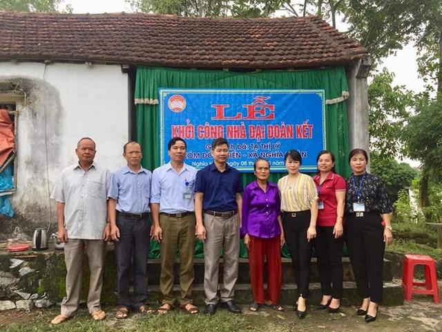 Chương trình kêu gọi hỗ trợ xây dựng nhà Đại Đoàn kết của Ủy ban MTTQ tỉnh Nghệ An đạt hơn 110 tỷ đồng