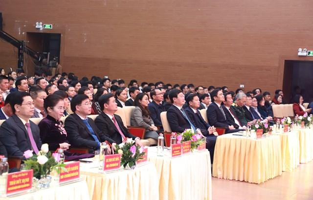 Lãnh đạo tỉnh Nghệ An tại Chương trình Tết vì người nghèo - Xuân Tân Sửu 2021