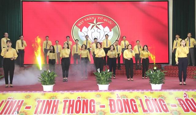 MTTQ tỉnh Nghệ An biểu dương 90 Trưởng ban CTMT tiêu biểu