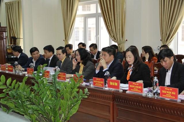 Hội nghị là dịp để Mặt trận các tỉnh Bắc Trung bộ đánh giá những việc được và chưa được trong công tác Mặt trận năm 2020.