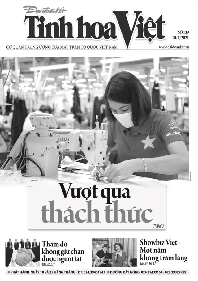 Trang 1 Tinh hoa Việt phát hành sáng 10/1.