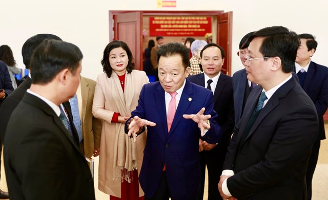 Ông Đỗ Quang Hiển, Chủ tịch HĐQT kiêm Tổng Giám đốc Tập đoàn T&T Group cho biết, T&T Group rất mong muốn quy hoạch bảo tồn, tôn tạo và phát huy giá trị khu di tích Chủ tịch Hồ Chí Minh sẽ sớm được triển khai và đi vào thực tế.