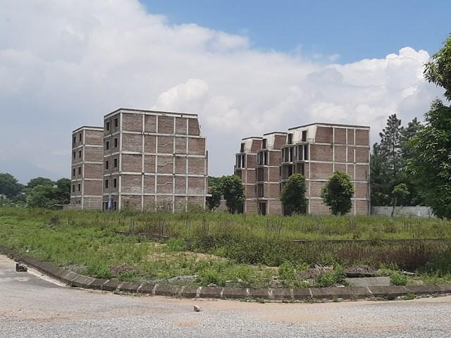 Một dự án bỏ hoang từng gây sốt đất cục bộ tại thị xã Sơn Tây (Hà Nội) trong năm 2020.