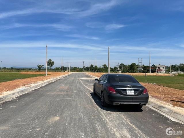 Nhiều khu đất tại huyện Quảng Xương (tỉnh Thanh Hoá) bị bỏ cọc sau đấu giá đất. Ảnh: Cafeland.vn
