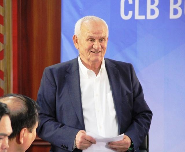 HLV Petrovic bày tỏ sự vui mừng khi được trở lại dẫn dắt đội bóng xứ Thanh.