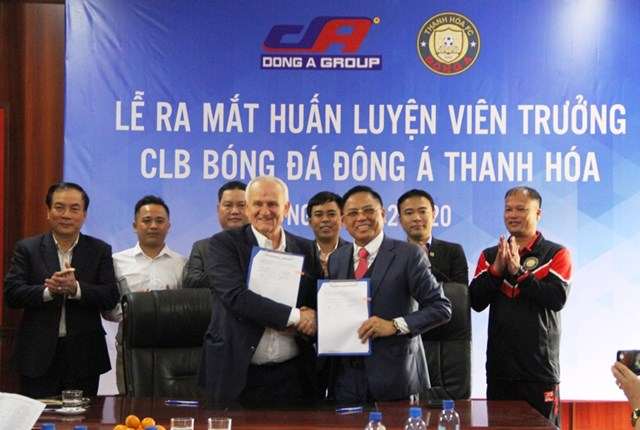 Hợp đồng giữa CLB Đông Á Thanh Hóa và HLV Ljupko Petrovic có thời hạn 1 năm.