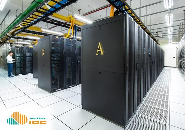 Hình ảnhvề Trung tâm dữ liệu Viettel IDC